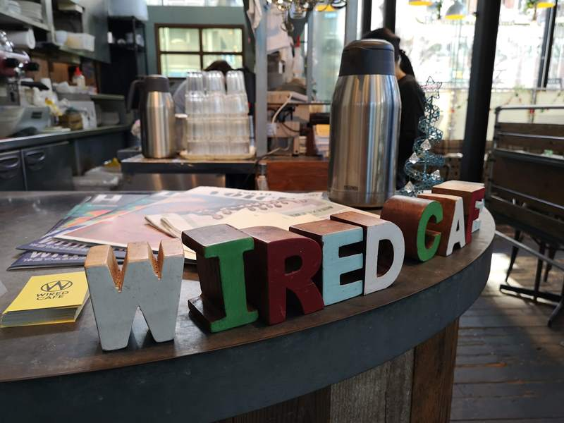 weirdcoffee07 Shinagawa-WIRED CAFE 品川港南口 摩登現代咖啡好美也好吃