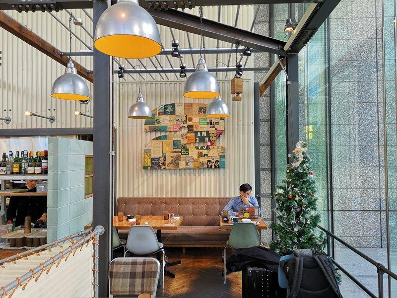 weirdcoffee10 Shinagawa-WIRED CAFE 品川港南口 摩登現代咖啡好美也好吃