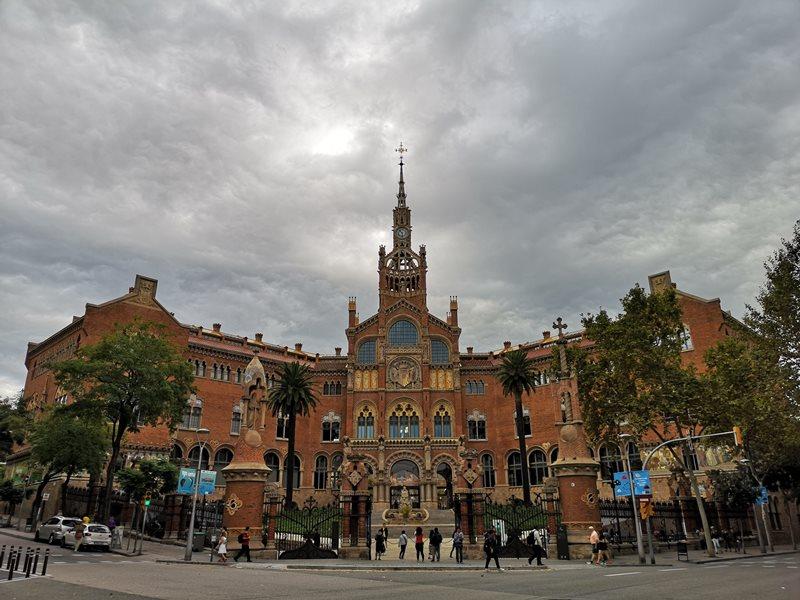 barcelonasantpau02 Barcelona-聖十字聖保羅醫院 巴塞隆納現在主義建築三傑之多明尼克...世界文化遺產