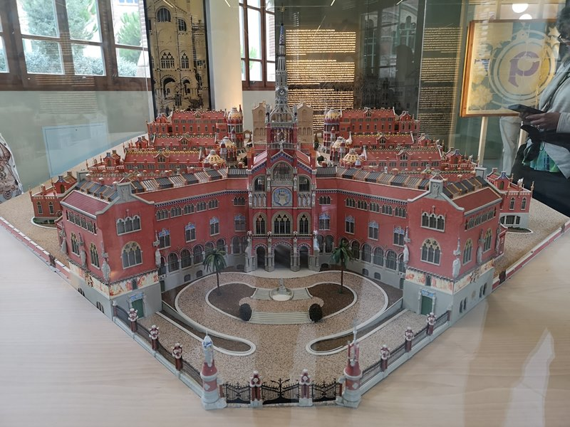 barcelonasantpau07 Barcelona-聖十字聖保羅醫院 巴塞隆納現在主義建築三傑之多明尼克...世界文化遺產