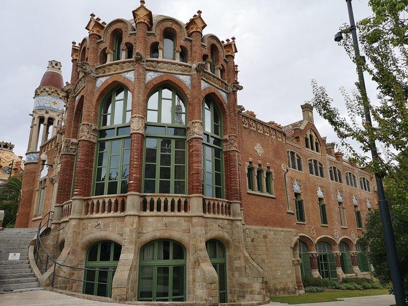 barcelonasantpau11 Barcelona-聖十字聖保羅醫院 巴塞隆納現在主義建築三傑之多明尼克...世界文化遺產
