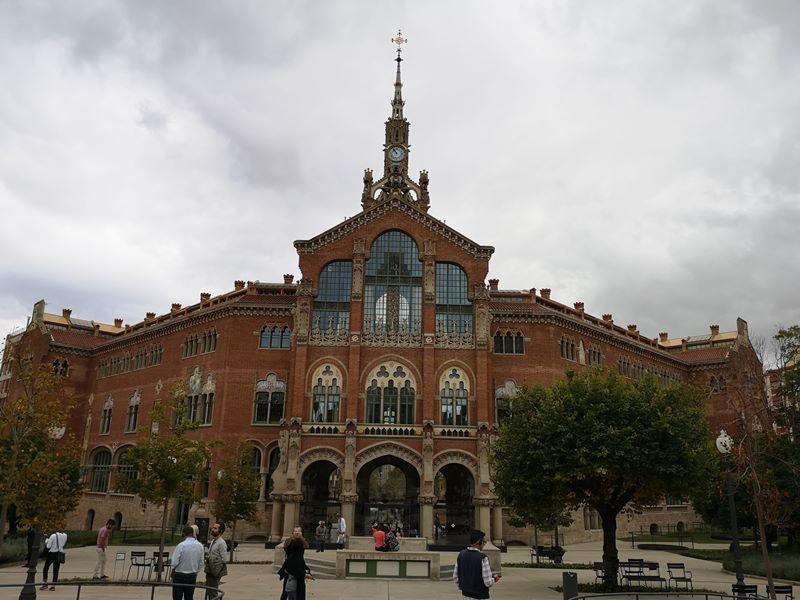barcelonasantpau12 Barcelona-聖十字聖保羅醫院 巴塞隆納現在主義建築三傑之多明尼克...世界文化遺產