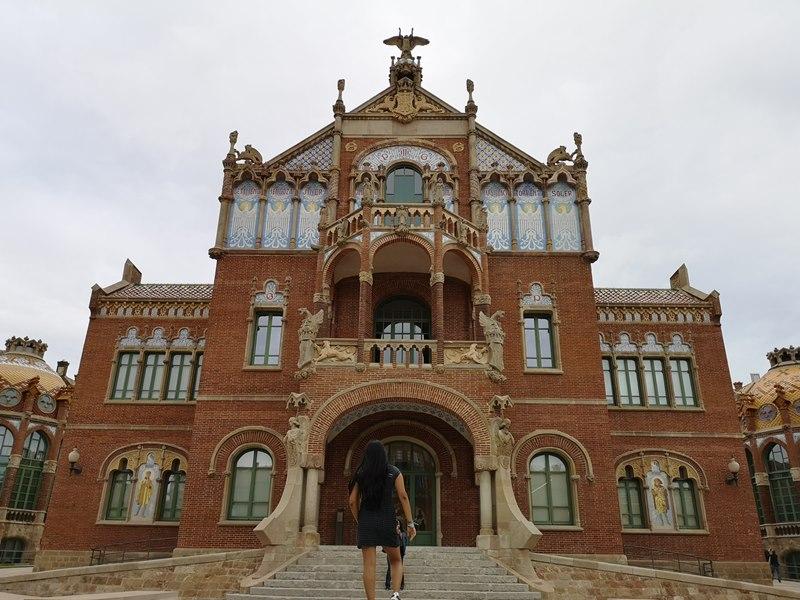 barcelonasantpau13 Barcelona-聖十字聖保羅醫院 巴塞隆納現在主義建築三傑之多明尼克...世界文化遺產