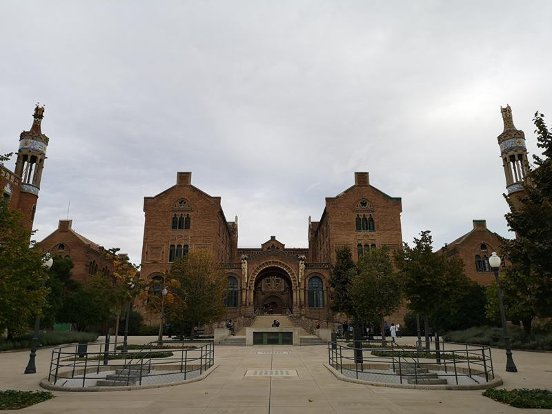barcelonasantpau16 Barcelona-聖十字聖保羅醫院 巴塞隆納現在主義建築三傑之多明尼克...世界文化遺產