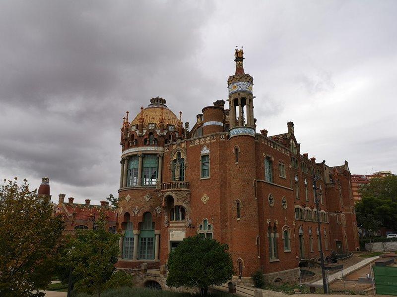 barcelonasantpau20 Barcelona-聖十字聖保羅醫院 巴塞隆納現在主義建築三傑之多明尼克...世界文化遺產