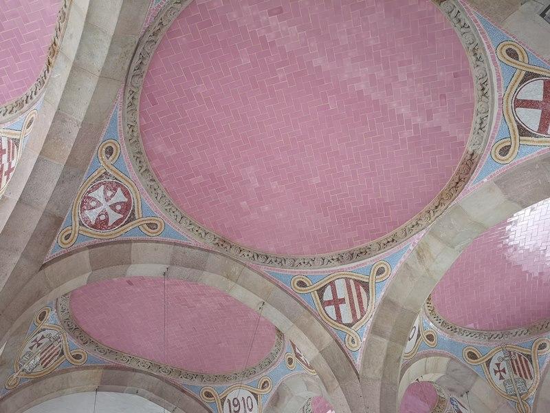 barcelonasantpau31 Barcelona-聖十字聖保羅醫院 巴塞隆納現在主義建築三傑之多明尼克...世界文化遺產