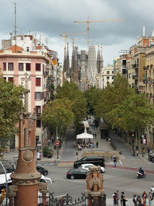 barcelonasantpau35 Barcelona-聖十字聖保羅醫院 巴塞隆納現在主義建築三傑之多明尼克...世界文化遺產
