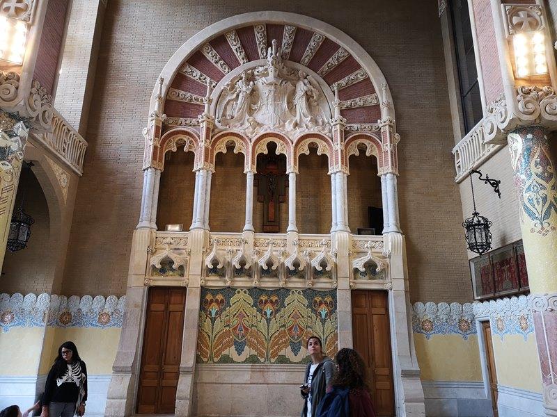 barcelonasantpau36 Barcelona-聖十字聖保羅醫院 巴塞隆納現在主義建築三傑之多明尼克...世界文化遺產
