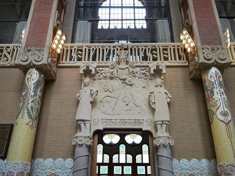 barcelonasantpau37 Barcelona-聖十字聖保羅醫院 巴塞隆納現在主義建築三傑之多明尼克...世界文化遺產