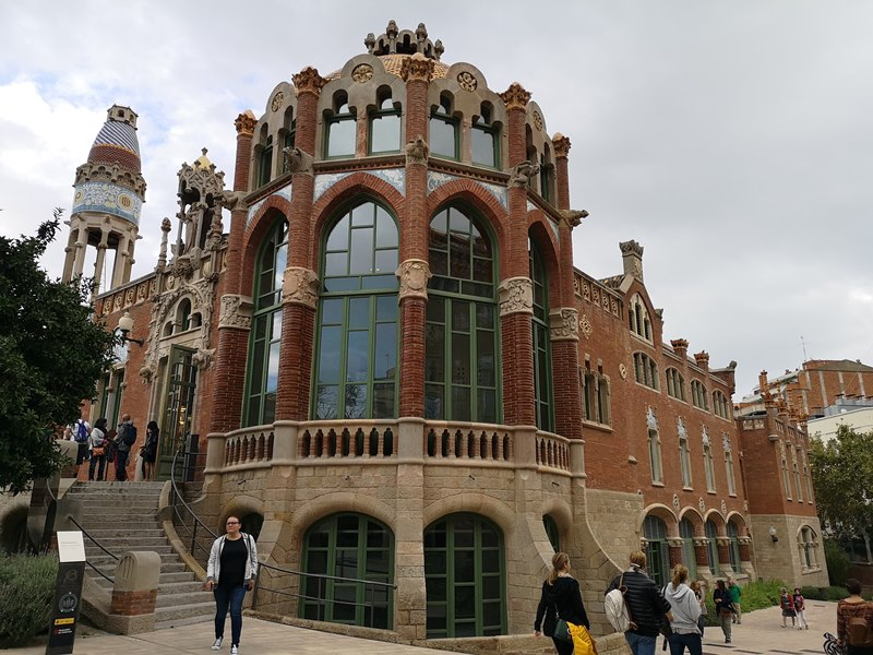 barcelonasantpau40 Barcelona-聖十字聖保羅醫院 巴塞隆納現在主義建築三傑之多明尼克...世界文化遺產