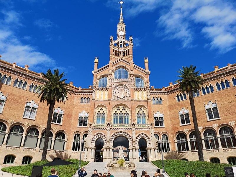 barcelonasantpau43 Barcelona-聖十字聖保羅醫院 巴塞隆納現在主義建築三傑之多明尼克...世界文化遺產