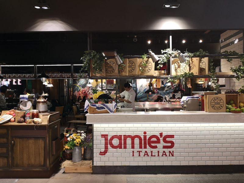 jamieolivertaipei01 信義-明星主廚光環滿溢...Jamie Oliver的Jamie's Italian 味道平淡價位五星