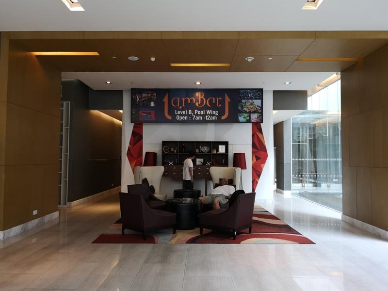 4PBKK05 Bangkok-曼谷Four Points商務飯店(曼谷福朋喜來登酒店-素坤逸15) 套房也簡單舒適