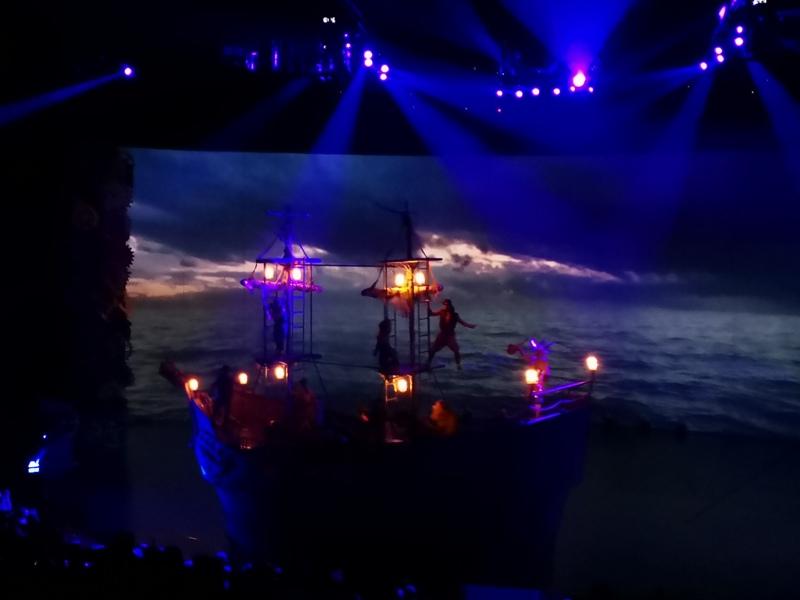 kaanshow0116 Pattaya-芭達雅KAAN show奇幻秀 舞台設計特效雜技泰拳投影雷射4D超精彩必看表演