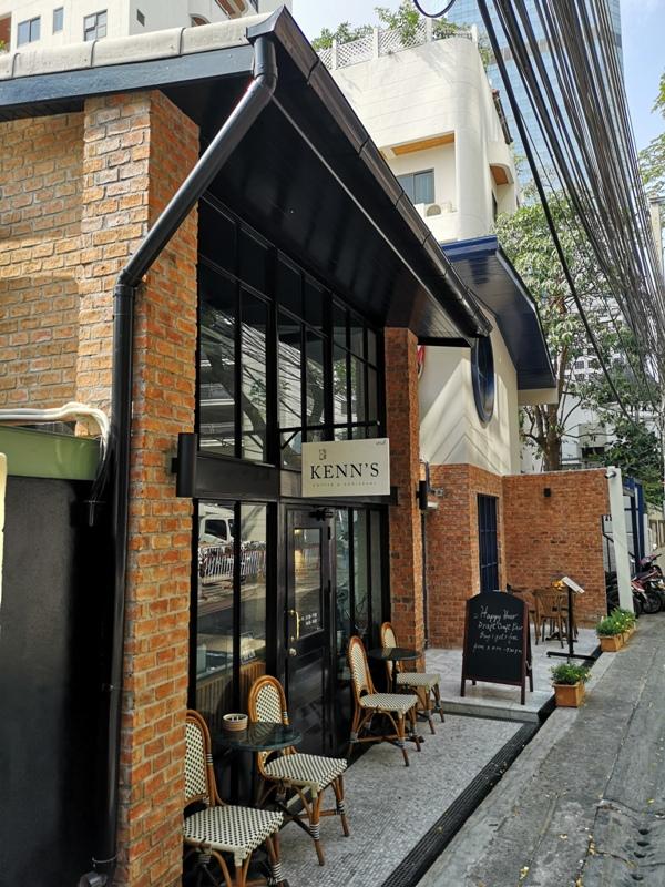 kenncafe01 Bangkok-曼谷金融區Chong Nonsi小店Kenn's Cafe香鬆可頌濃郁咖啡 美味的早茶