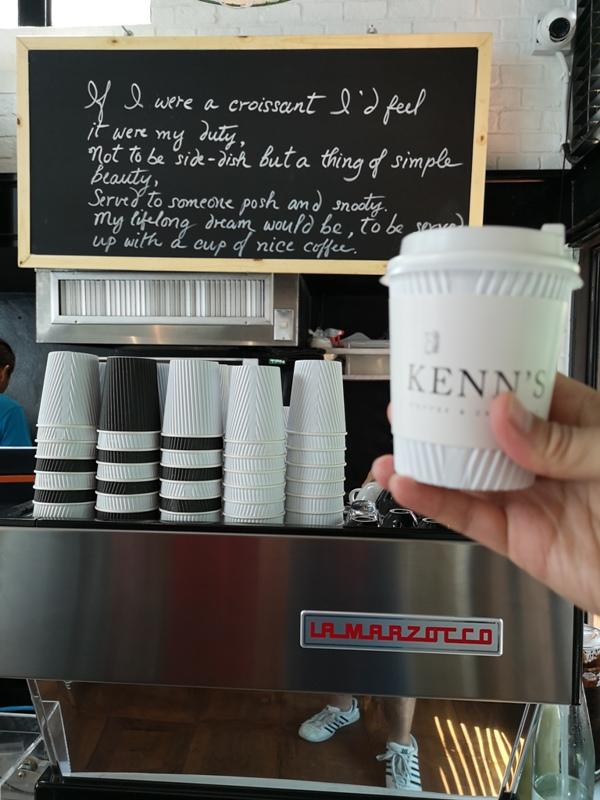 kenncafe06 Bangkok-曼谷金融區Chong Nonsi小店Kenn's Cafe香鬆可頌濃郁咖啡 美味的早茶