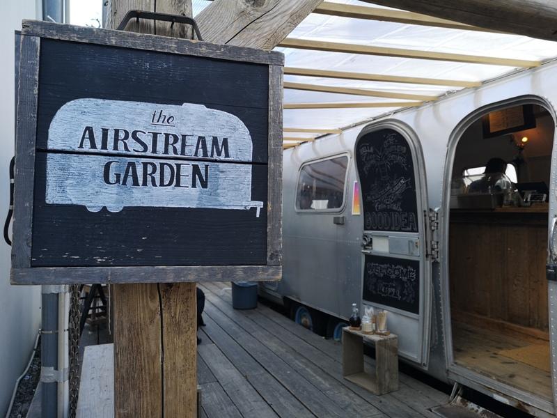 airstream01 Harajuku-the Airstream Garden表參道小巷內 巴士造型咖啡館 人氣打卡勝地