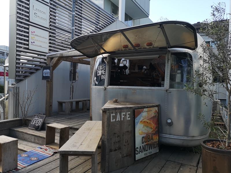 airstream02 Harajuku-the Airstream Garden表參道小巷內 巴士造型咖啡館 人氣打卡勝地