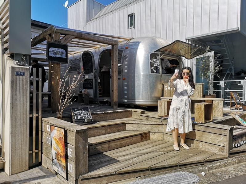 airstream04 Harajuku-the Airstream Garden表參道小巷內 巴士造型咖啡館 人氣打卡勝地