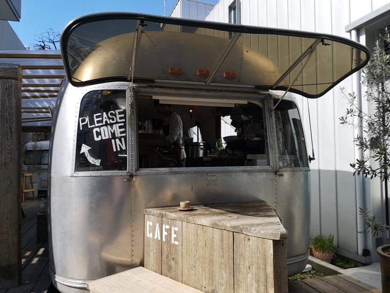 airstream05 Harajuku-the Airstream Garden表參道小巷內 巴士造型咖啡館 人氣打卡勝地
