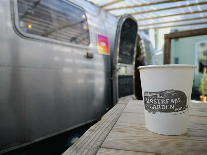airstream17 Harajuku-the Airstream Garden表參道小巷內 巴士造型咖啡館 人氣打卡勝地