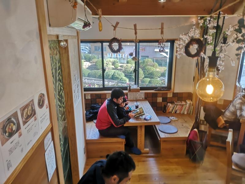 sakurakitchencafe05 Komagome-駒込站旁(染井吉野櫻發祥地) 冬日暖陽飲咖啡看電車 桜Sakura Kitchen Cafe