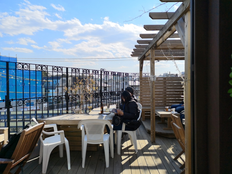 sakurakitchencafe08 Komagome-駒込站旁(染井吉野櫻發祥地) 冬日暖陽飲咖啡看電車 桜Sakura Kitchen Cafe