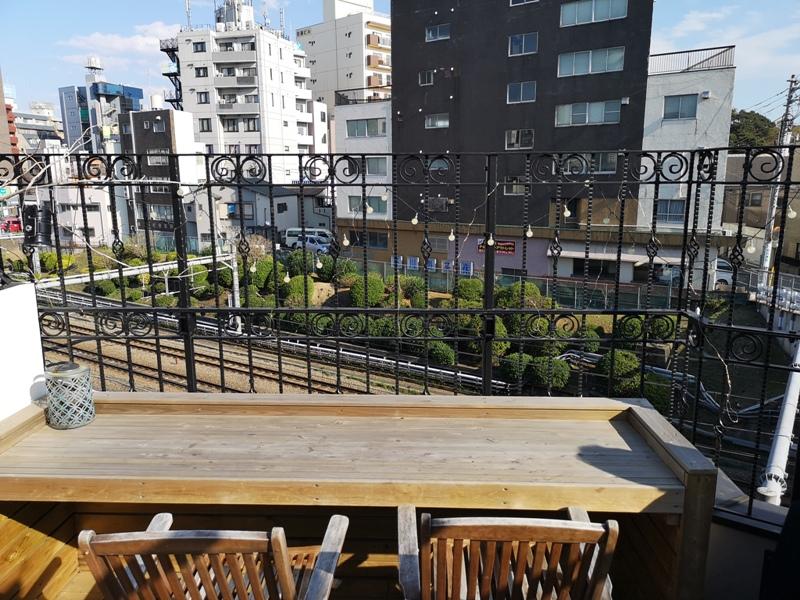 sakurakitchencafe09 Komagome-駒込站旁(染井吉野櫻發祥地) 冬日暖陽飲咖啡看電車 桜Sakura Kitchen Cafe