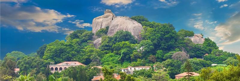 sunlightrock04 Kulangsu-日光岩 鼓浪嶼最高點 盡享碧海藍天紅瓦綠樹的美景