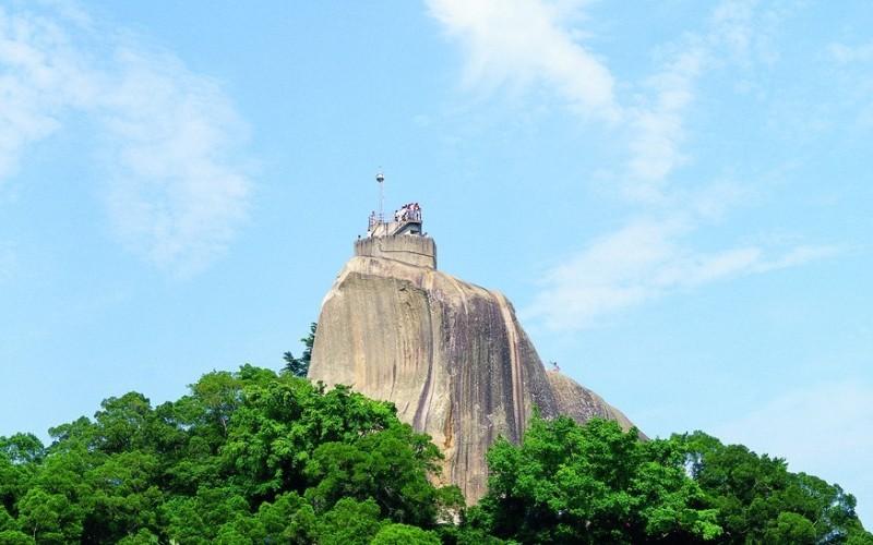 sunlightrock06 Kulangsu-日光岩 鼓浪嶼最高點 盡享碧海藍天紅瓦綠樹的美景
