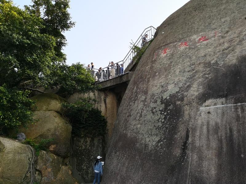 sunlightrock15 Kulangsu-日光岩 鼓浪嶼最高點 盡享碧海藍天紅瓦綠樹的美景