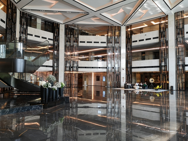 xiamenmarriott05 Xiamen-廈門泰地萬豪酒店 乾淨的發亮的窗戶與地板...新的就是好