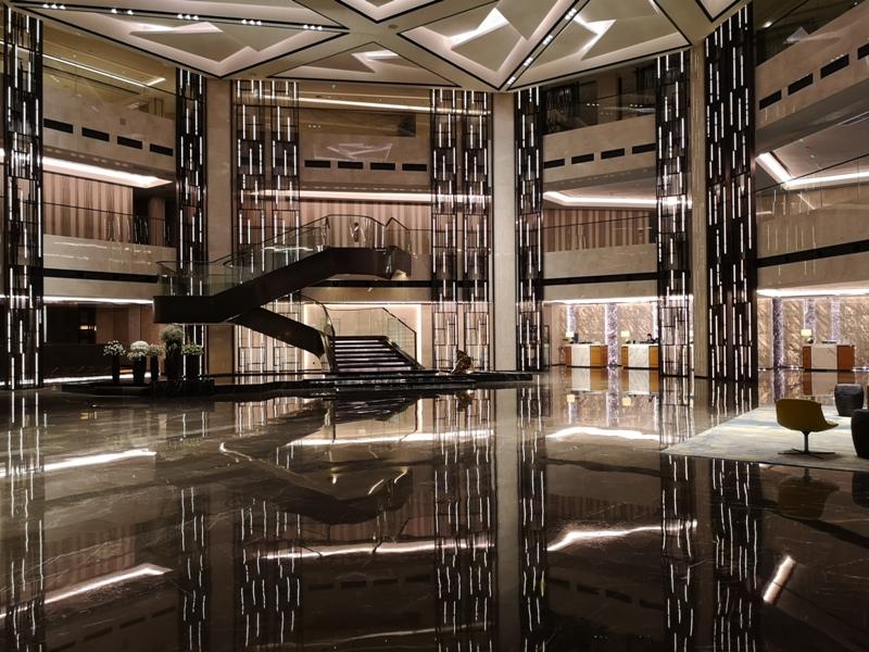xiamenmarriott07 Xiamen-廈門泰地萬豪酒店 乾淨的發亮的窗戶與地板...新的就是好