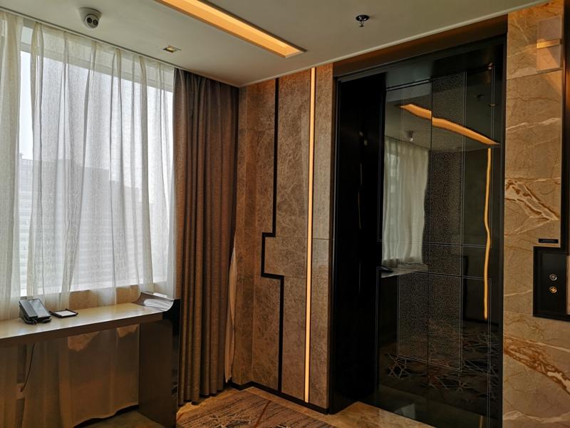 xiamenmarriott12 Xiamen-廈門泰地萬豪酒店 乾淨的發亮的窗戶與地板...新的就是好