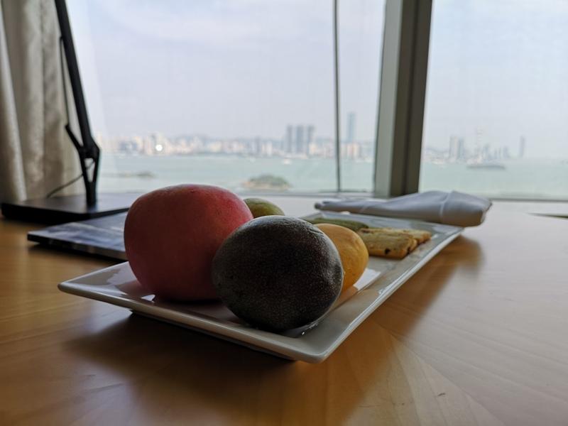 xiamenmarriott50 Xiamen-廈門泰地萬豪酒店 乾淨的發亮的窗戶與地板...新的就是好