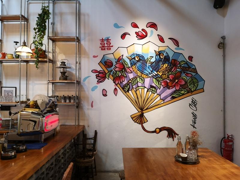 HEESAN05 Malacca-囍叁隔壁Heesan Kopi(馬六甲雞場街)舒適南洋風 一杯咖啡很解熱