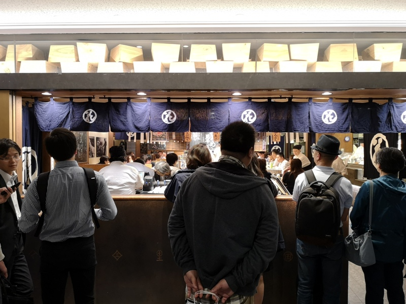 hanamaru03 Tokyo-超人氣旋轉壽司 根室花まる KITTE很好逛有博物館也有空中花園拍東京車站