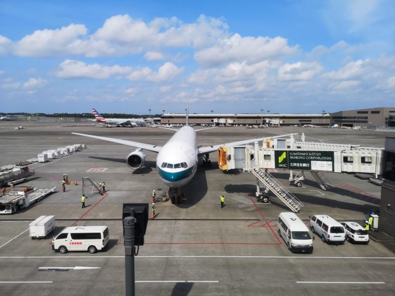 hkgnrt1426 201905台北香港東京成田 首飛香港東京by國泰航空