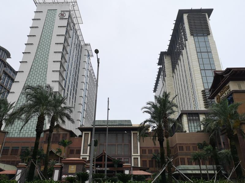 macaosheraton02 Macao-澳門金沙城喜來登酒店 超大的酒店簡單樸實的裝潢