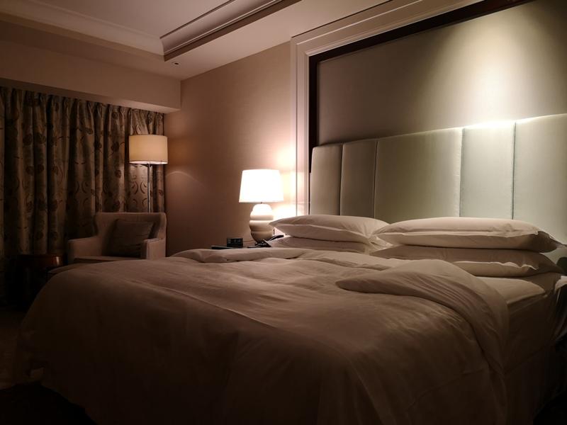 macaosheraton06 Macao-澳門金沙城喜來登酒店 超大的酒店簡單樸實的裝潢