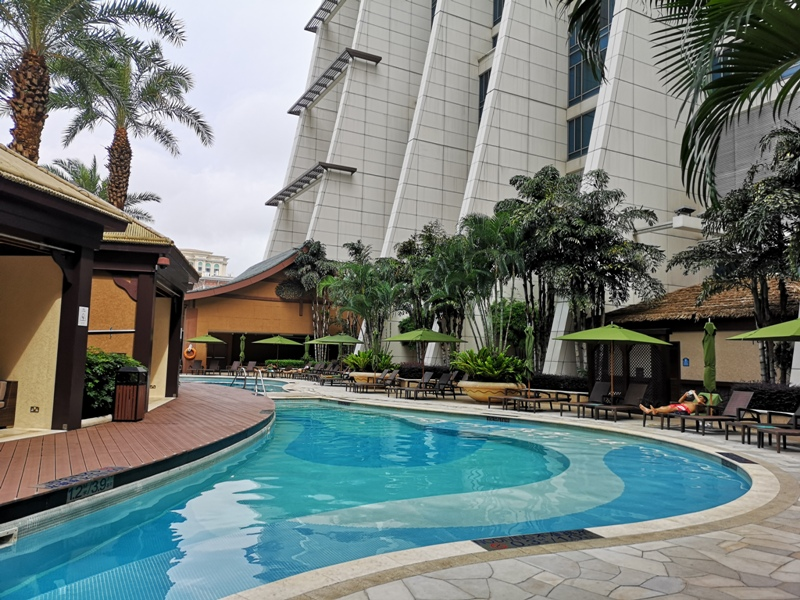 macaosheraton41 Macao-澳門金沙城喜來登酒店 超大的酒店簡單樸實的裝潢