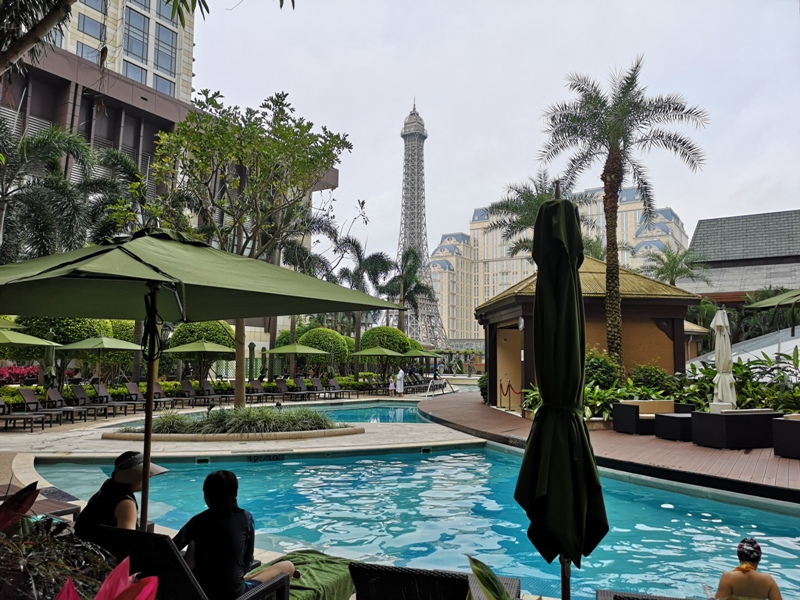 macaosheraton44 Macao-澳門金沙城喜來登酒店 超大的酒店簡單樸實的裝潢