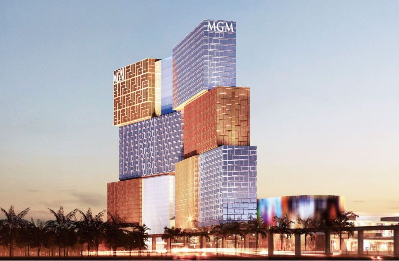 mgm01 Macao-澳門美獅美高梅MGM宛如美術館的購物中心 賭也要賭的優雅