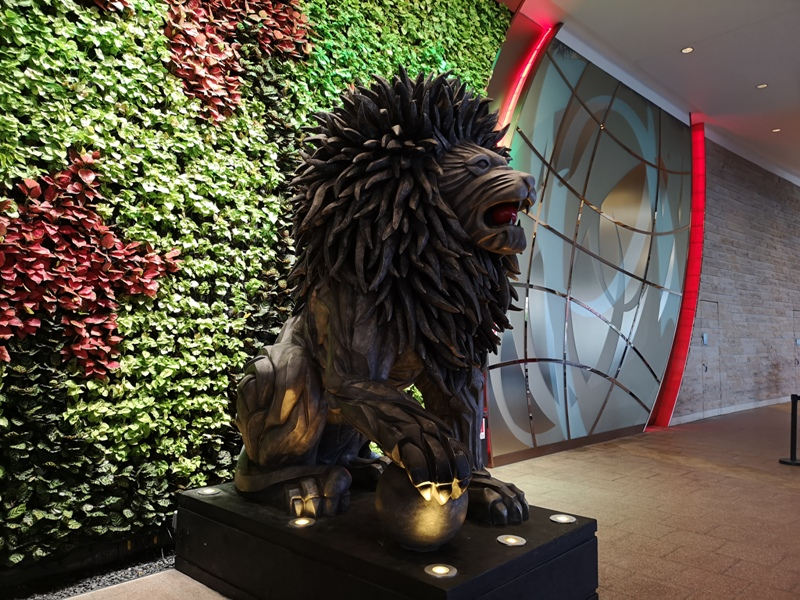 mgm41 Macao-澳門美獅美高梅MGM宛如美術館的購物中心 賭也要賭的優雅