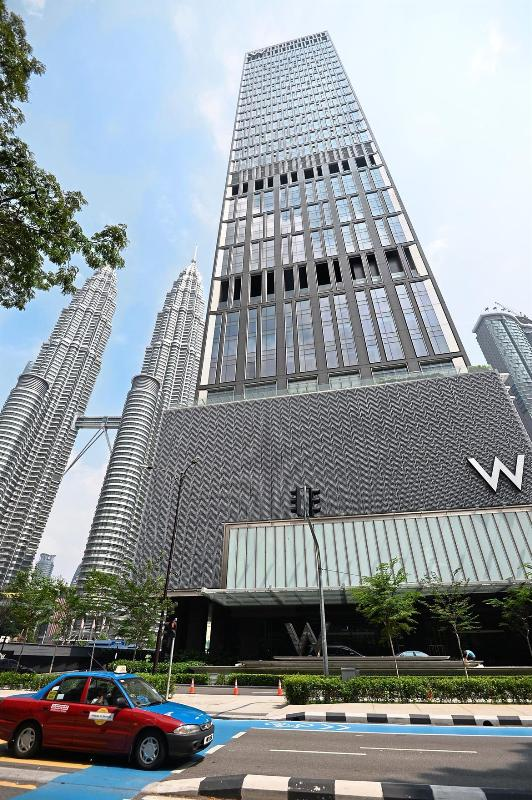 wkualalumpur02 Kuala Lumpur-時尚精品飯店W Kuala Lumpur 緊鄰雙子星塔熱鬧又方便