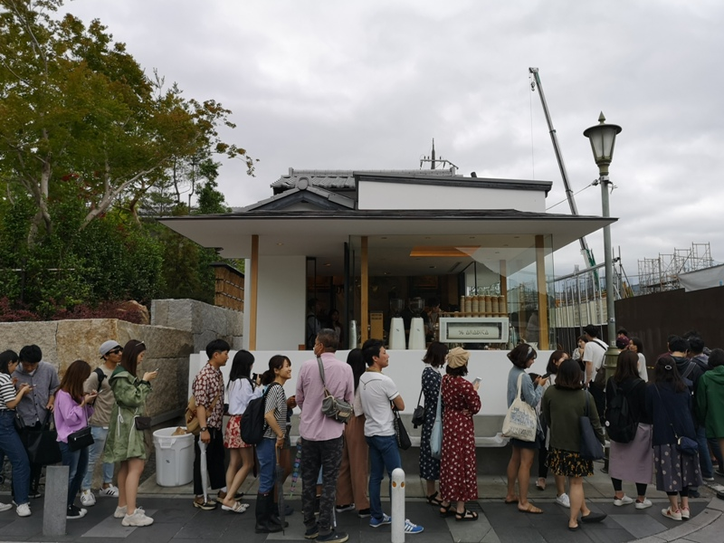 arabicaarashiyama02 Arashiyama-坐享嵐山景緻的%Arabica Coffee人潮太多排太久...