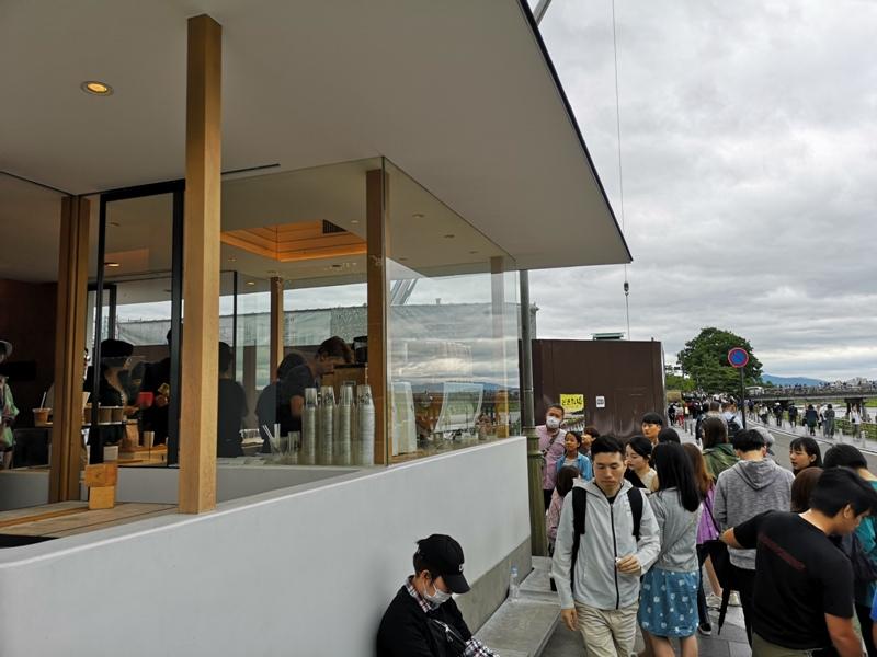 arabicaarashiyama05 Arashiyama-坐享嵐山景緻的%Arabica Coffee人潮太多排太久...