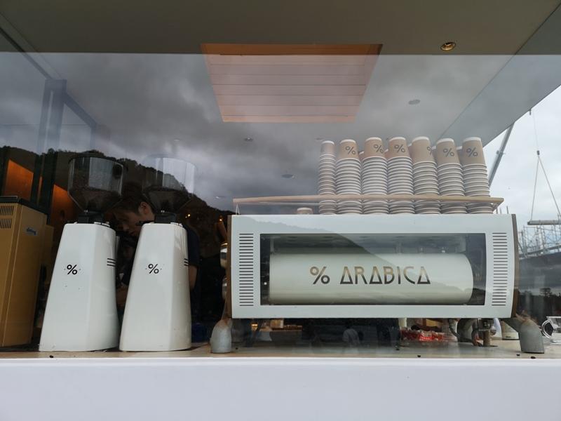arabicaarashiyama06 Arashiyama-坐享嵐山景緻的%Arabica Coffee人潮太多排太久...