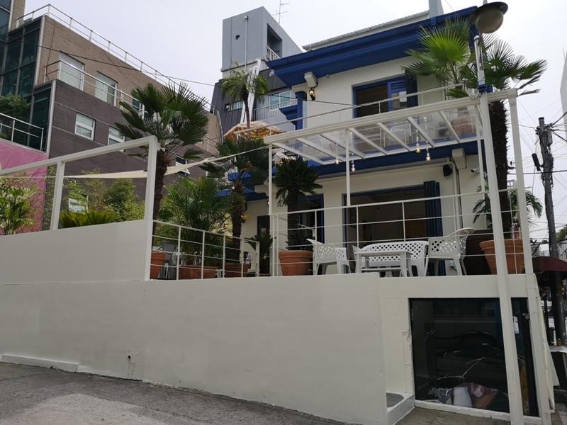 cafeel21 Seoul-Cafe El Cielo 男模幫你沖咖啡 首爾新沙洞時尚夢幻咖啡館