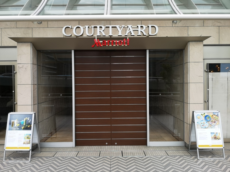 courtyardshinosaka01 Osaka-Courtyard Shin-Osaka Station新大阪站萬怡酒店 車站直結超方便